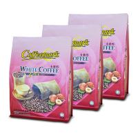[3 Pack Bundle] Coffeemark White Coffee 3-in-1 (Hazelnut) @ 15's x 36g