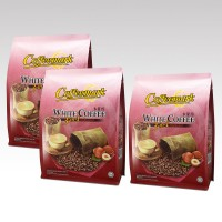 Coffeemark White Coffee 3-in-1 (Hazelnut) @ 15's x 36g [Bundle of 3]