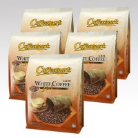 Coffeemark White Coffee 3-in-1 (Classic) @ 15's x 36g [Bundle of 5]