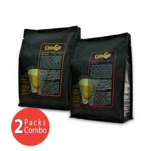 2-Pack Coffeemark Microground Coffee Combo [1 pack Microground Coffee 3-in-1 @ 15's x 28g + 1 pack Microground Coffee 2-in-1 @ 15's x 20g]