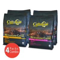 4-Pack Coffeemark Microground Coffee Combo [2 packs Microground Coffee 3-in-1 @ 15's x 28g + 2 packs Microground Coffee 2-in-1 @ 15's x 20g]