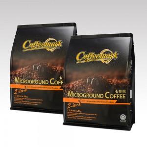 Coffeemark Microground Coffee 2-in-1 @ 15's x 20g [Bundle of 2]
