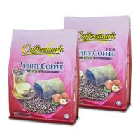 [2 Pack Bundle] Coffeemark White Coffee 3-in-1 Hazelnut @15's x 36g