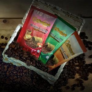 Coffeemark White Coffee 3-in-1 Hazelnut @ 15's x 36g [FREE 3 SACHETS x 36g 3-in-1 Classic] [Bundle of 2]