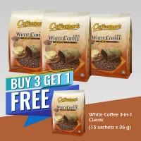 Coffeemark Instant Premix White Coffee 3 in 1 Classic @ 15's x 36g [BUY 3 GET 1 FREE]