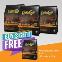 Coffeemark Instant Premix Microground Coffee 2 in 1 @ 15's x 20g [BUY 3 GET 1 FREE]
