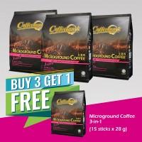 Coffeemark Instant Premix Microground Coffee 3 in 1 @ 15's x 28g [BUY 3 GET 1 FREE]
